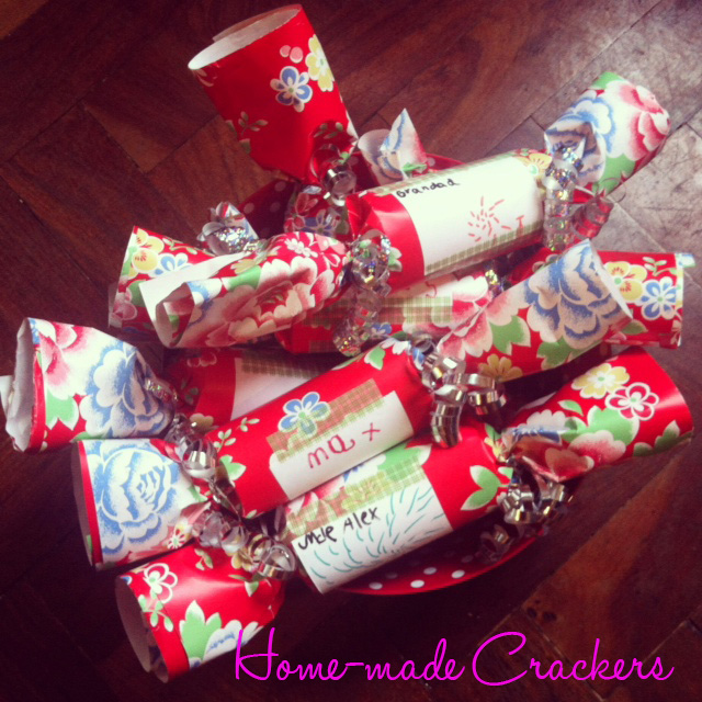 Home-made crackers